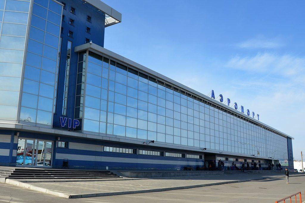 Здание терминала Аэропорт Иркутск
